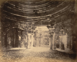Interior of the Somanatha Temple from the north-east, Somnath (Prabhas Patan)
